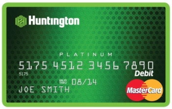 Huntington Bank Platinum Debit MasterCard