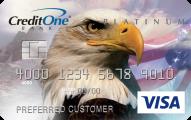 3750Credit One® Platinum Visa® Cash Back Rewards Credit Card